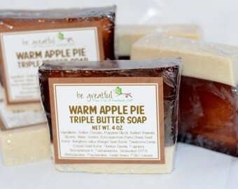 Warm Apple Pie Soap