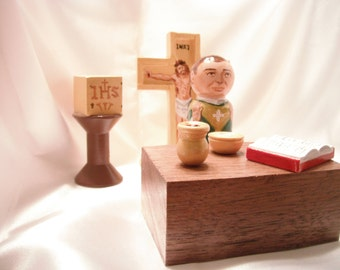 Catholic Mass play set - Catholic children's toys - made to order