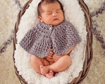 Crochet Pattern, Mystique Cape for Infants, Toddlers, Children and Larger