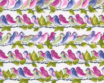 Songbirds in Orchid pc6681 - VERANDA - Michael Miller Fabrics -1 Yard