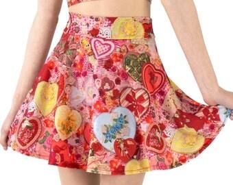 Valentines Skater Skirt