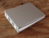 Polaroid Guest Book - photo album instant photo wedding guest book  baby book scrapbook anniversary silver natural spring  - made to order
