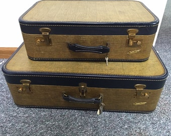 Vintage Carilite Luggage Set