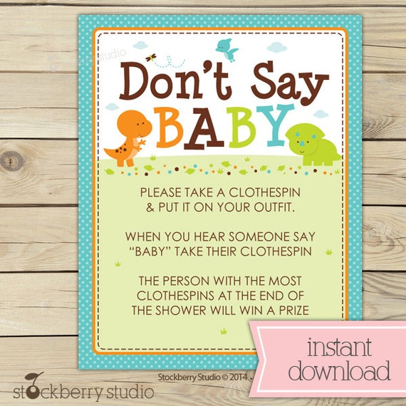 boy baby shower games dino clothespins game baby shower activities
