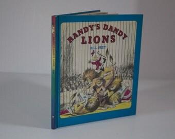 Randy's Dandy Lions by Bill Peet - Vintage Hardcover Children's Book