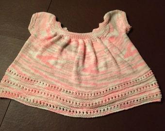Knit Baby Sweater Dress