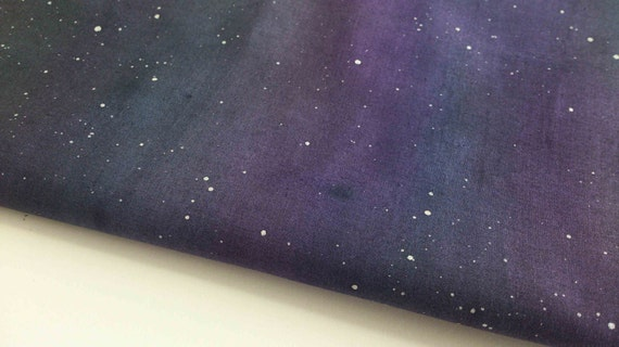 Night sky fabric by quiltroutes on etsy for Night sky material