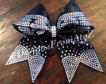 8 Purple Wing Cheer Bow