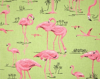 flamingo pink  and  green select your size