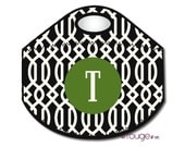 TRELLIS monogrammed lunch tote - with customizable pattern and monogram