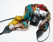 READY TO SHIP- Camera Strap- Scarlett Scarf Strap