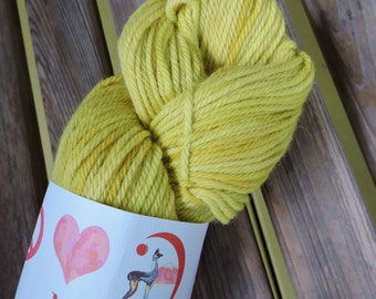 WORSTED Weight Yarn - Maracuya (#42) - Misti Alpaca Hand Paint Tonos Worsted - 100g/ 109 yards