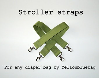 Additional Stroller Straps for Any Yellowbluebag Bags
