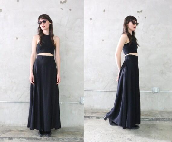 Black Bohemian Skirt 89