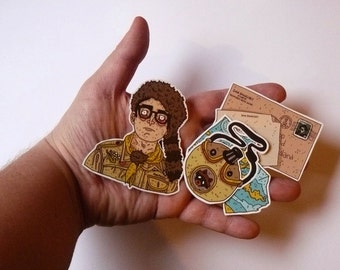 Stickers // Moonrise Kingdom // Wes Anderson // Sam