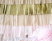 Wedding Backdrop Fringe Curtain, Photography Background, Photobooth backdrop, Photo Backdrop, Buffet Table Decor, Party Decorations, diy kit
