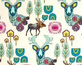 Whimsical woodland Crib Sheet- Indian Summer- Baby Toddler Bed Fitted sheet-  aztec - woodland- gender neutral