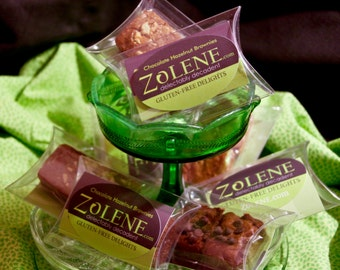 ZOLENE 2-piece Guest Packs of Gluten-Free Delights for Weddings, Party Favors, Reunions