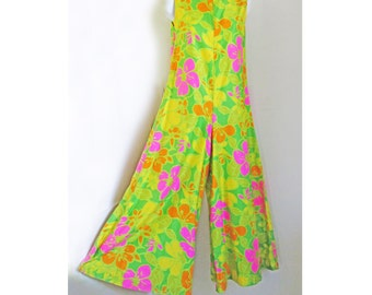 1960s Jumpsuit from the HOLIDAY shops in Honalulu