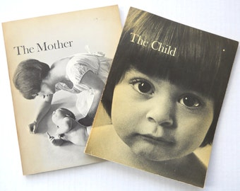 The Child (1965) & The Mother (1968) Photography Books