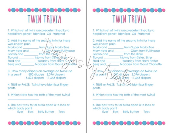 twin baby shower games lookup beforebuying