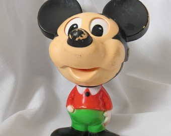 1970s Vintage Disneyana Talking Disney Mickey Mouse - Are You a Mouseketeer?