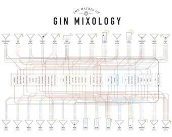 The Matrix of Gin Mixology