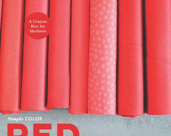 Simply Color RED BOOK by Vanessa Christensen of V and Co.
