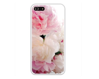 Cell Phone Case, iPhone 4/4s 5/5s 6/6plus  & Samsung s3, s4, 35, CELL PHONE  Case/Cover, Pink Peony Blossoms, Free Shipping USA, Guarantee