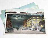 5 Vintage Cedar Rapids Iowa Postcards Used