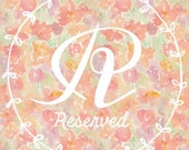 Reserved for Jen Greene-Custom embroidered pendant necklace
