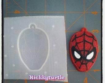 Spiderman  Flexible Plastic Resin Mold