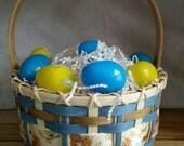 Reserved for ladybecka - Handmade Large Boy's Easter Basket