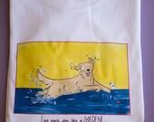 Golden Retriever Live Each Day like a Golden T shirt