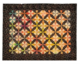 Kaleidoscope - Multicolored - Full Size Quilt