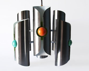 Mid Century Dutch Design Pendant Light - RAAK 60s 70s