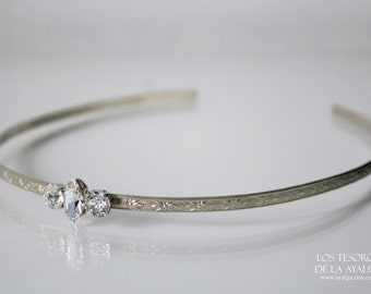 wedding tiara - medieval circlet - elven crown