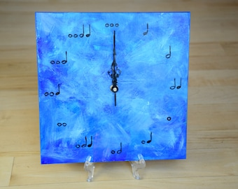 Assorted Music Note Clocks
