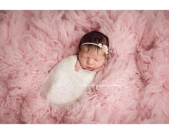 RTS, Newborn Wrap, FREEBIE, White Newborn Wrap, White Baby Wrap, Newborn Photo Prop, Knit Newborn Wrap, Baby Girl Photography Prop