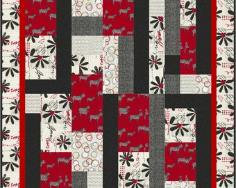 Quilt Pattern - Zanzibar by Little Louise Designs - Hard Copy Version - FREE SHIPPING!!!