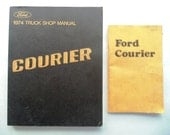 1974 Ford Courier Truck Shop & Owners Manual