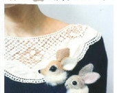 RESERVED listing for Missy - Animal Brooches in Woods