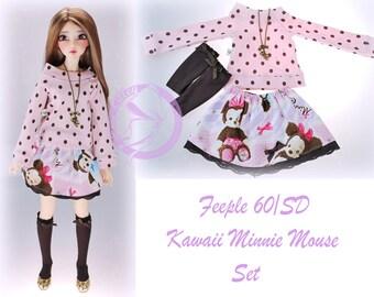 F60 SD Kawaii Minnie Mouse Set