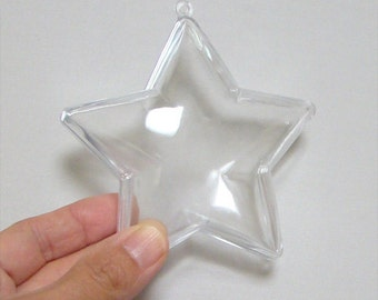 Acrylic Star-Shaped Container