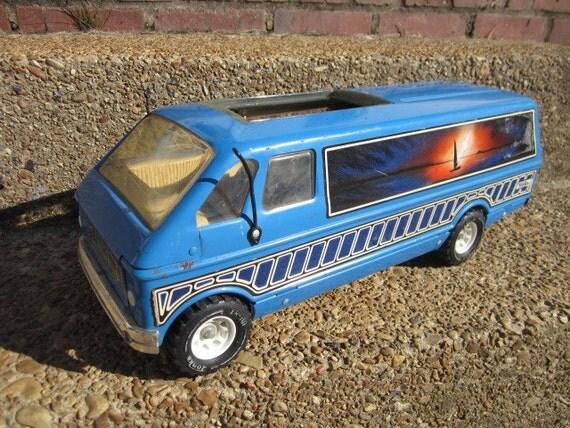 Vintage Tonka Custom Van With Murals