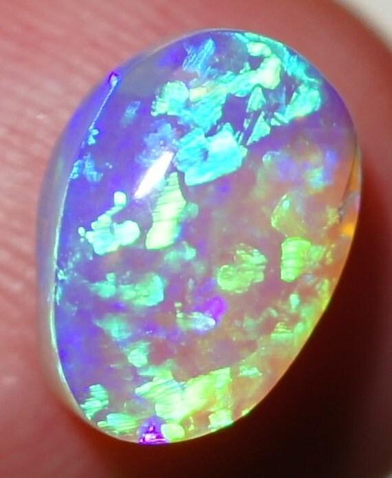 solid 2 12ct gem quality lightning ridge australia