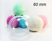 5 Round Bath Bomb Mold 2.36 inches/ 60mm