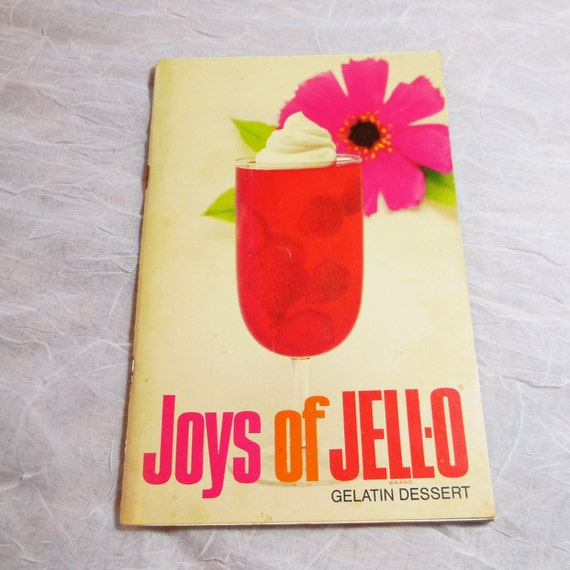 Joys of JELL-O - Vintage Cookbook - Jello Gelatin Dessert