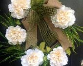 All season everyday wreath; spring wreath