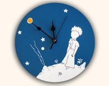LE PETIT PRINCE wall clock -The little prince-, unique decoration, nursery decoration